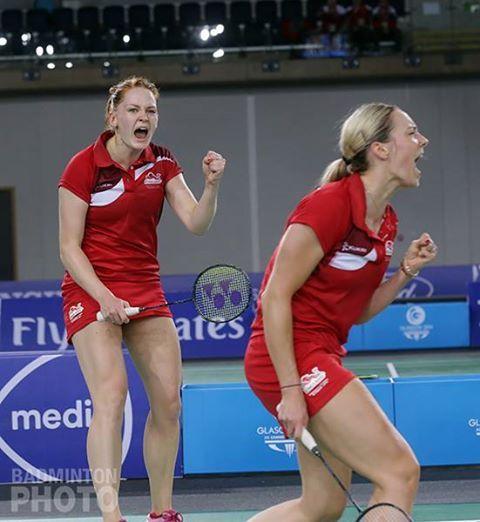 Gabby ADCOCK and Lauren SMITH [Bronze], [Women's doubles] Badminton England