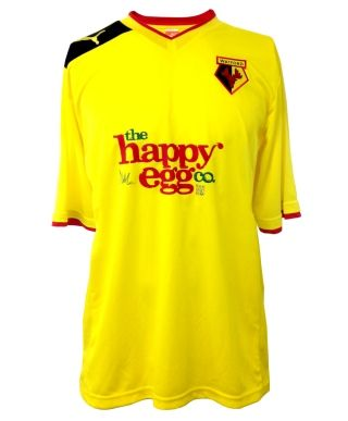 This is the new Watford kit 12/13, Championship outfit Watford FC's new home shirt for the 2012/13 season. The new Watford 2012/2013 home shirt has been made by Puma and features a new sponso…