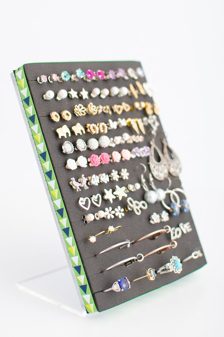 Best 25+ Stud earring organizer ideas on Pinterest | Stud ...