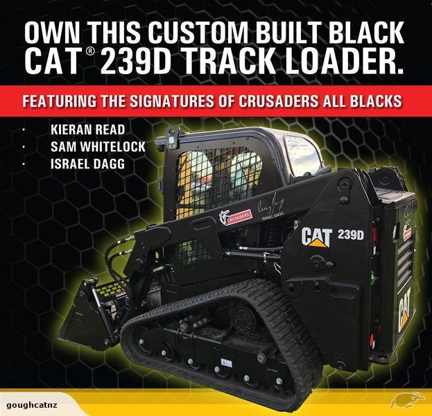 Custom Built Black Cat 239D Compact Track Loader - Gough Cat | Trade Me