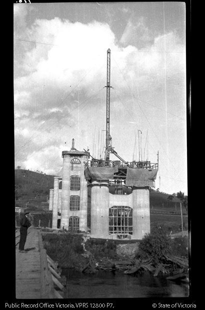 Bethanga Bridge Construction - Lake Hume
