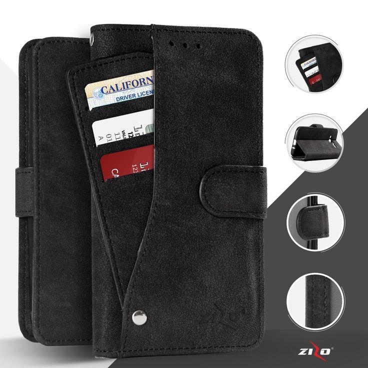 ZIZO Slide Out Pocket Wallet LG X Power Case - Black