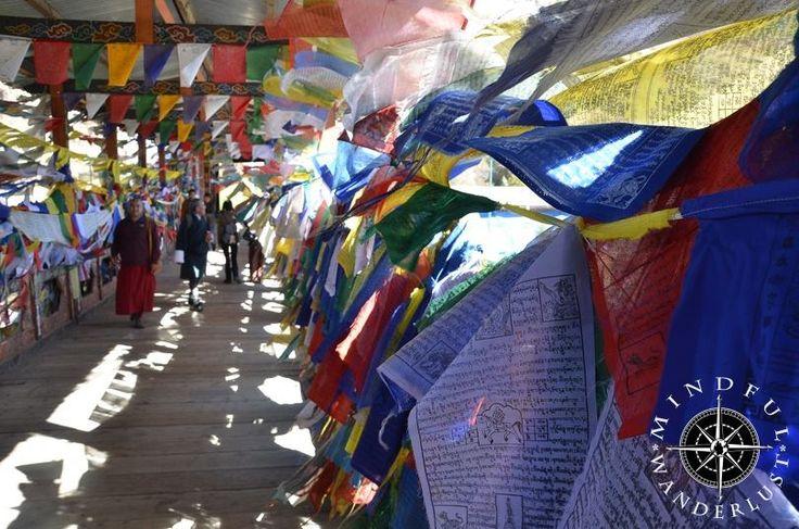 Prayer flags in Bhutan