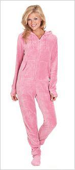 Hoodie-Footie (TM), The Official Hoodie-Footie, Hoodie Footie Pajamas for Adults   PajamaGram I have wanted these for 2.5 years lol