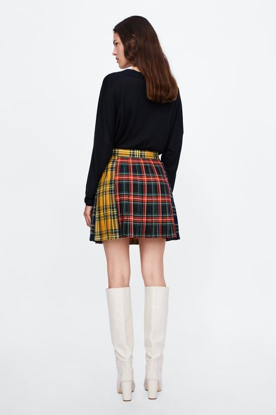 Image 7 of PATCHWORK MINI SKIRT from Zara  f49f5c086bc1