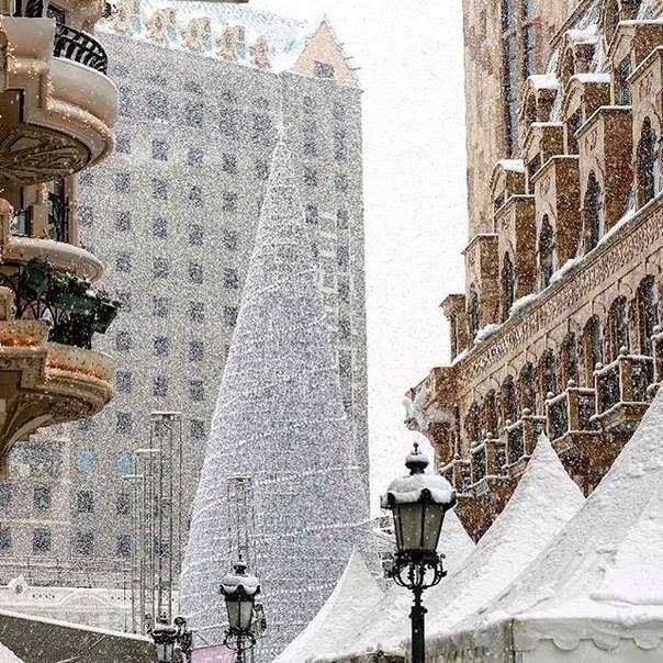 Snowy Batumi