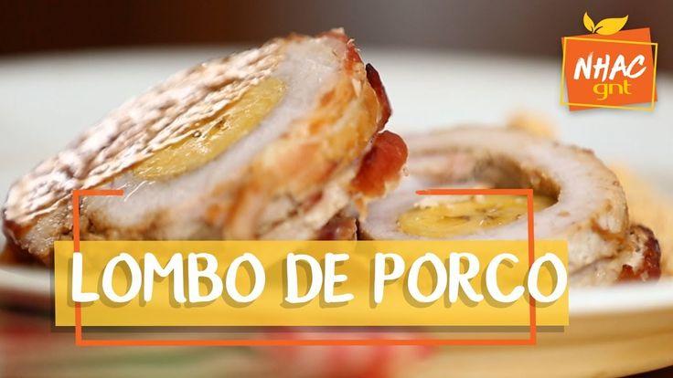 Lombo de porco assado recheado com banana   Rita Lobo   Cozinha Prática
