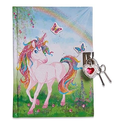 Diario Unicornio Con Candado Guarda Tus Secretos Bajo Llave