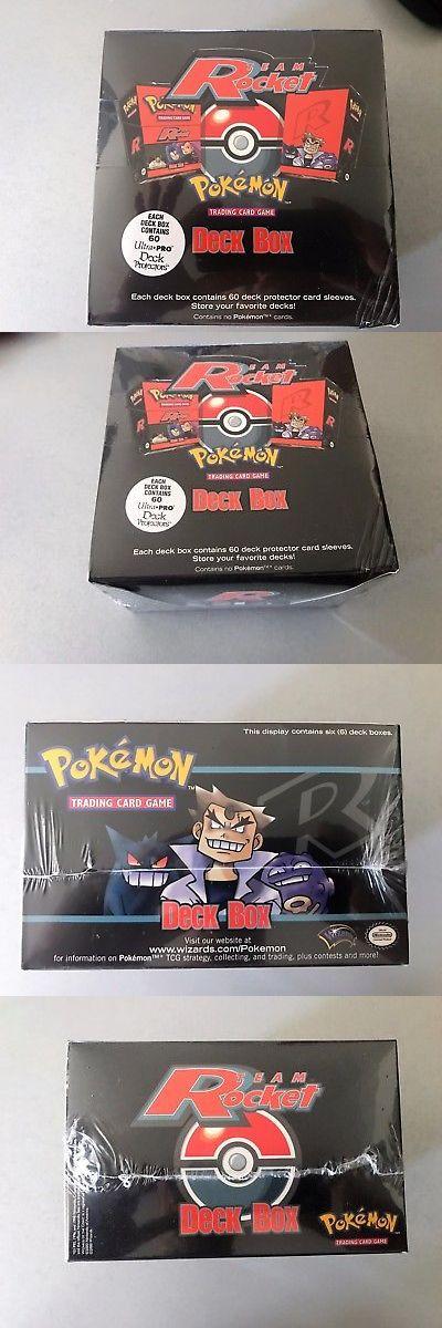 Pok mon Sealed Decks and Kits 183467: Rare Pokemon Team Rocket Deck Box ( 6 Deck Boxes Sealed). Sealed -> BUY IT NOW ONLY: $220 on eBay!