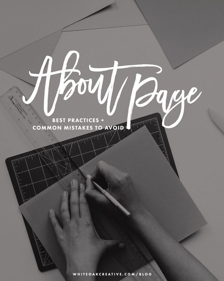 Struggling to write the perfect About page? It's one of the most viewed pages of your site, so make sure you nail it! Click through for some AWESOME About Page tips from Lindsay of White Oak Creative.