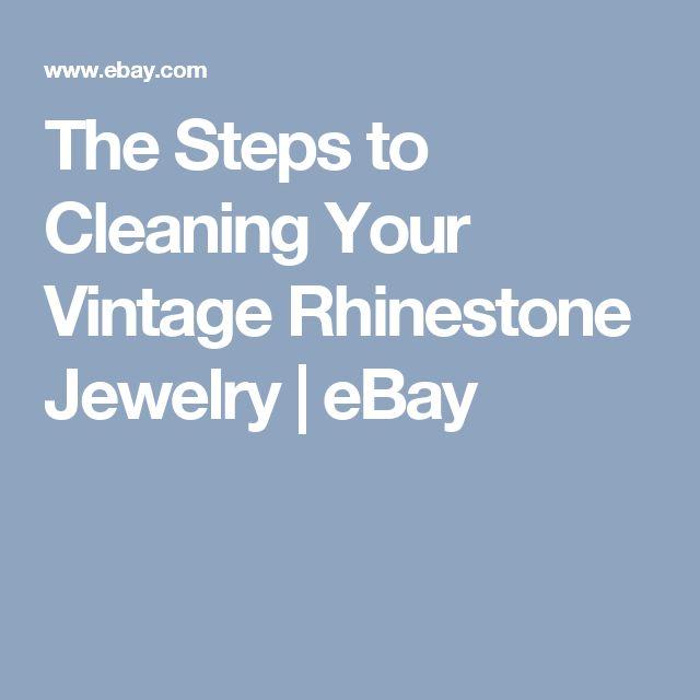 How To Clean Vintage Rhinestone Jewelry 77