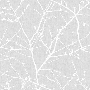 Superfresco Easy Innocence Grey Wallpaper
