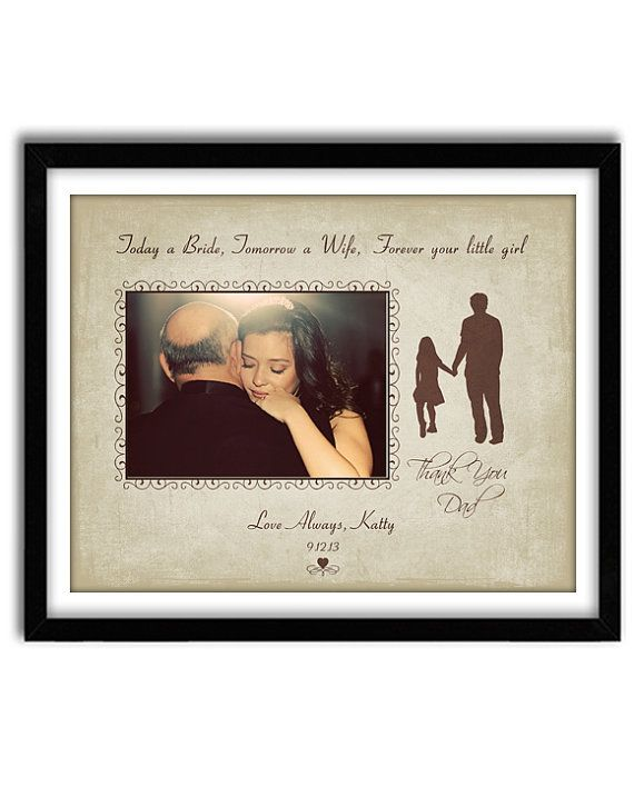 Wedding Gift, Father of the Bride Gift, Thank you gift for Parents ...