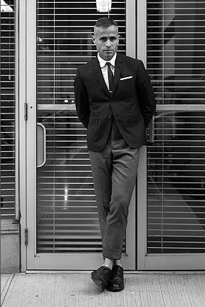 Thom Browne - designer who made FLOTUS' inaugural coat