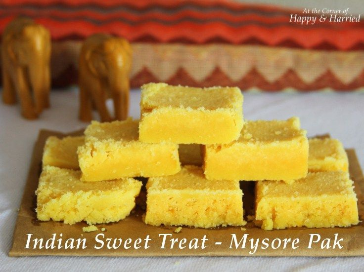 Indian Sweet - Mysore Pak