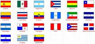 Image result for flags of the spanish speaking countries