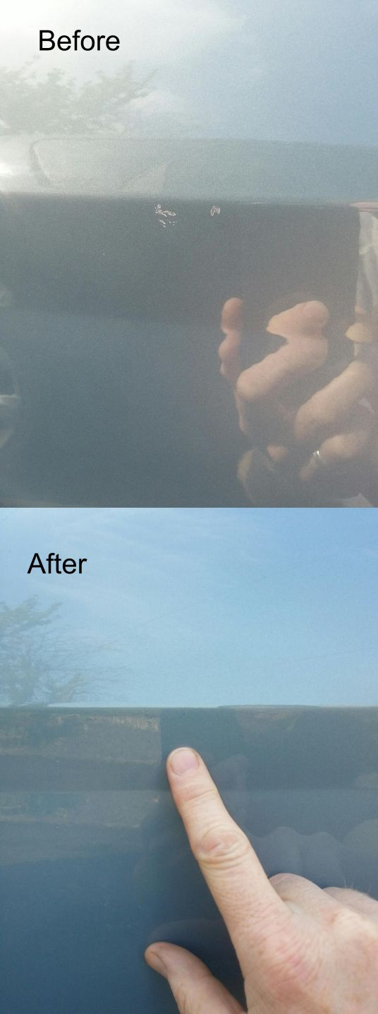 A second lot of pictures from Jason Pick - another happy Chipex customer! Fix your car stone chips now!
