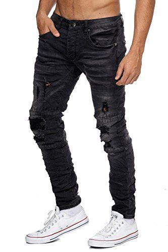 japan style herren jeans slim fit