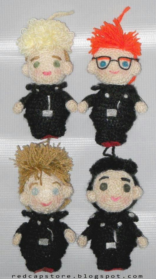 Amigurumi Depeche Mode