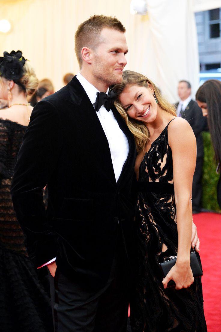 Tom Brady & wife Gisele Bundchen -  The Cutest Celebrity Couple PDA Moments  - ELLE.com