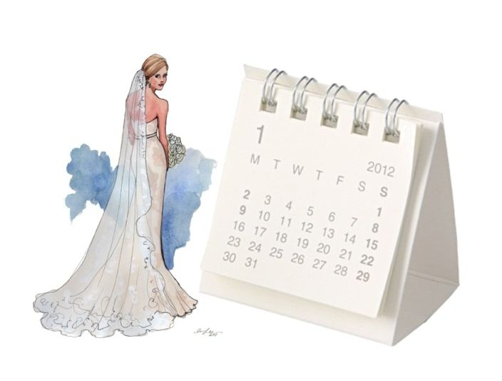 The 12 Month Wedding Calendar: The Bride & Grooms Guide To Happy Planning - Wedding Party