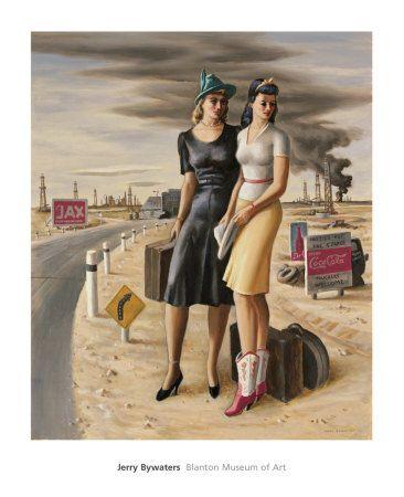 oilfield girls