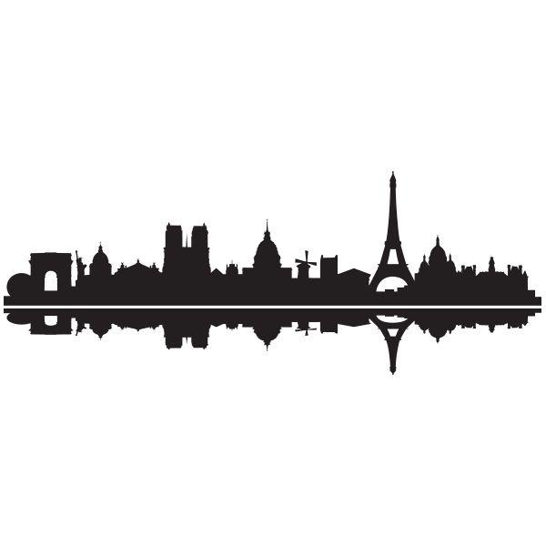 Sticker Skyline Paris | Fanastick.com