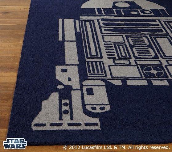 Star Wars™ R2 D2™ Rug | Pottery Barn Kids