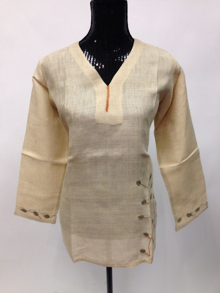 Khadi Silk kurta - Off White