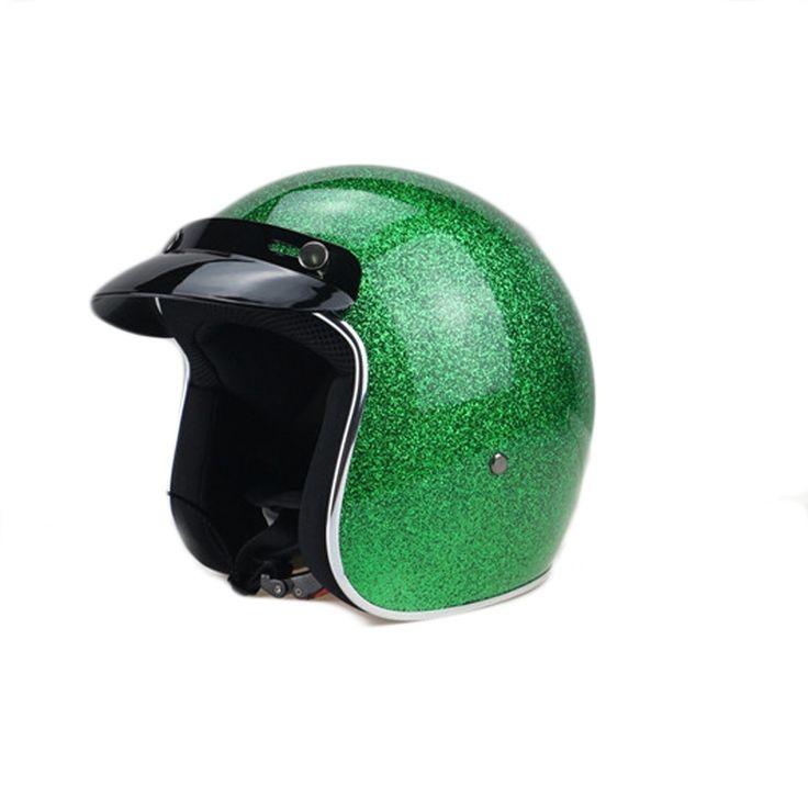 52.79$  Watch now - http://aliquf.shopchina.info/1/go.php?t=32808870691 - 3/4 open face motorcycle helmet vintage scotter jet  motocross capacete cascos moto retro casque para motocross vespa TTKG001  #aliexpressideas