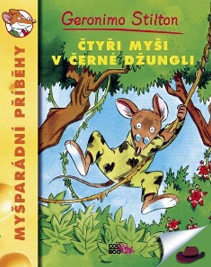 Kniha Čtyři myši v černé džungli   bux.cz