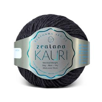 Zealana KAURI Worsted K12 Dark Tepo