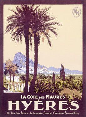 Travel to Hyeres France Fine Art Print