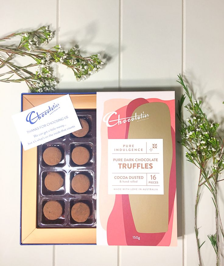 Cocoa Dusted Dark Chocolate Truffles