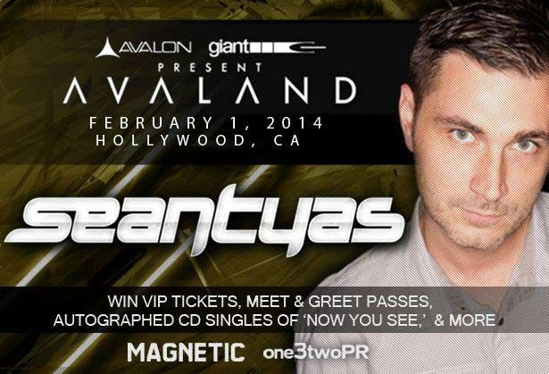Contest: Win Tickets To See Sean Tyas At Avalon Hollywood Saturday Feb 1