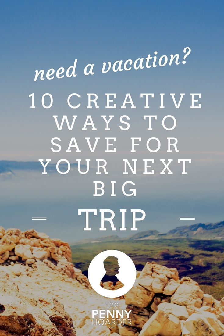 Vacations are supposed to be relaxing, but it's hard to unwind when you're constantly stressing about how you're going to pay for it all.  Here are 10 ways to save for you vacation - The Penny Hoarder http://www.thepennyhoarder.com/how-to-save-for-a-vacation/ money saving hacks, saving money hacks tips to save money on travel