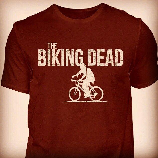 Das Shirt für alle Fahrradfans, die selbst nach der Zombie-Apokalypse weiterhin Fahrrad fahren würden ;)Als Shirt für Männer, Frauen und Kids, als Hoodie, Jacke, Sportbeutel erhältlich!