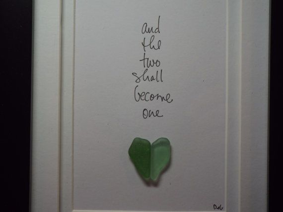 And the two shall become one green original design by ArtSeaHeart