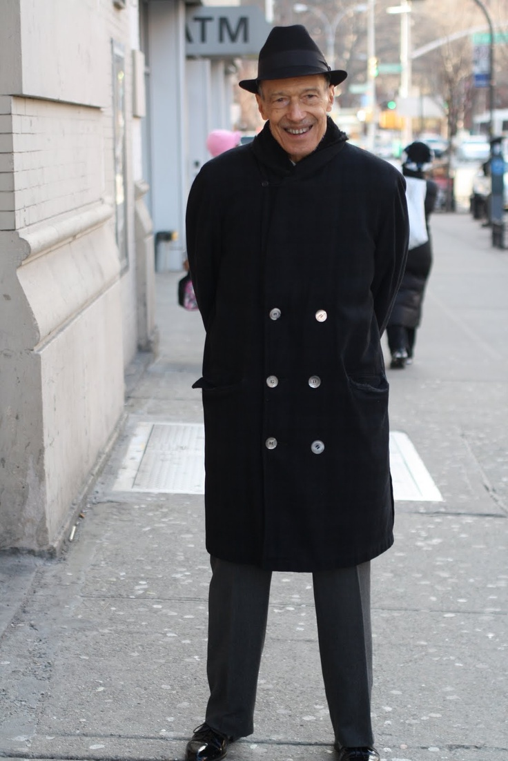 Older man looking sharp