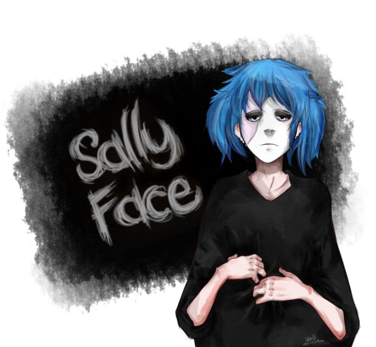 Sally Face by Wolf-Fram