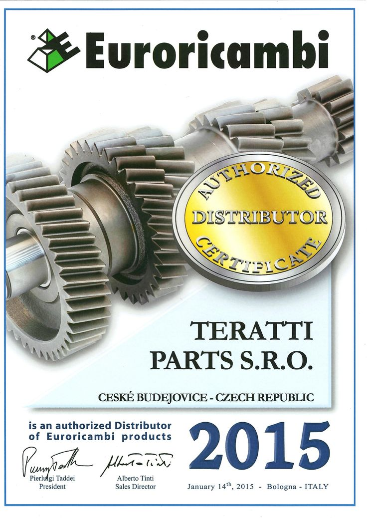 EURORICAMBI | TERATTI PARTS 4 TRUCKS