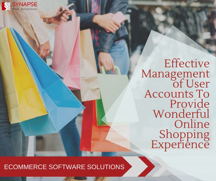 Get an intelligent eCommerce software solutions to effectively manage the user accounts, their orders & wish lists to provide them with a wonderful personalized shopping experience. Check out more information of our eCommerce development services.  #eCommerceSoftwareSolutions #eCommerceDevelopment #SynapseWebSolutions