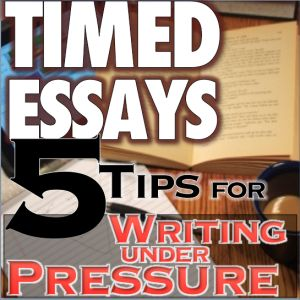 essay writing under pressure Tips for writing under pressure sometimes a four or five-paragraph essay will effectively answer an essay the university writing & rhetoric center.