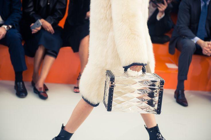 Louis Vuitton Fall/Winter 2015 http://www.thecoveteur.com/louis-vuitton-fall-2015/