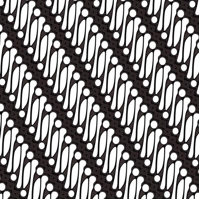 Black Patterns Draw And White
