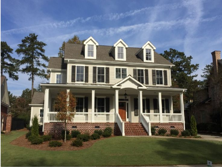View The Exteriors Photo Gallery From Ivey Homes A Home Builder In Augusta GA
