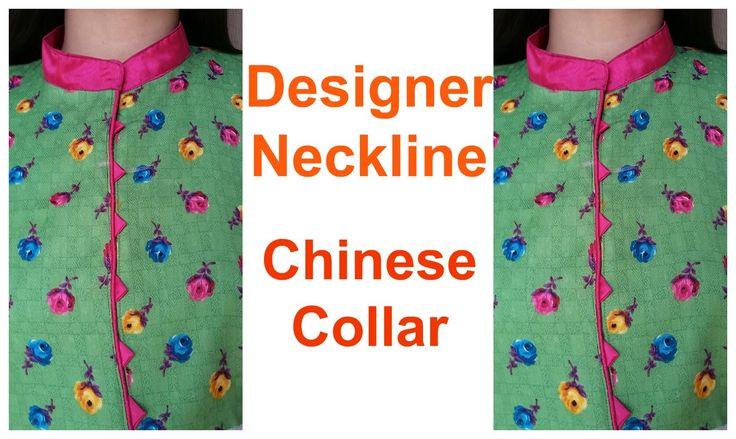 Designer Neckline   Chinese Collar