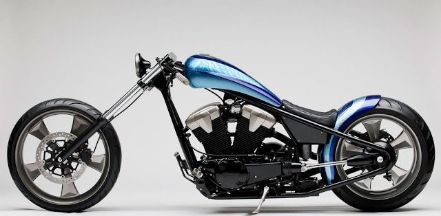2011 Honda Fury Furious Hardtail Chopper