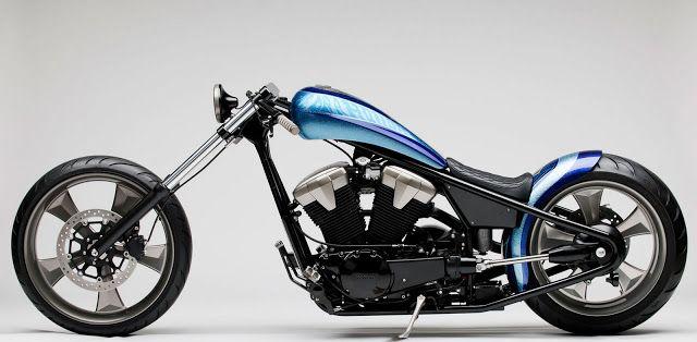 2011 Honda Fury Furious Hardtail Chopper