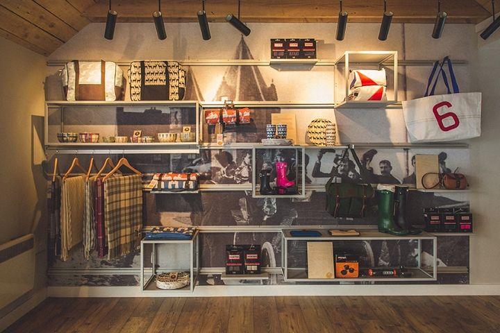 Outfitters John O'Groats, Retail Design, Natural Retreats